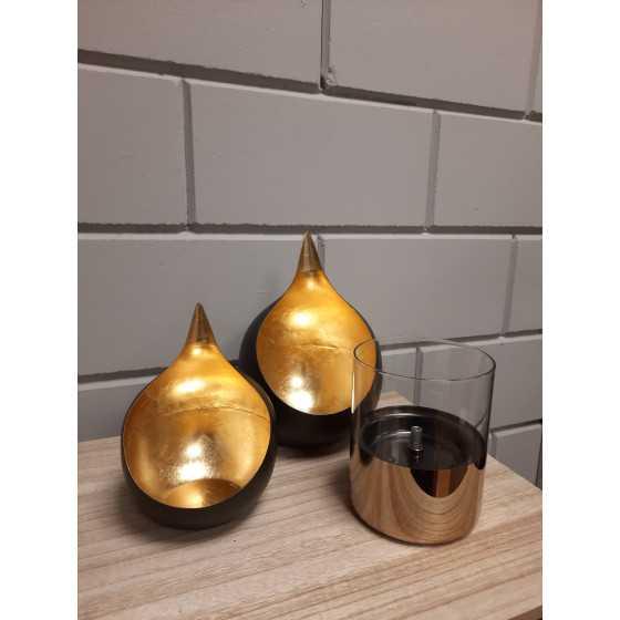 Tafelhaard Lilly Glas 10 Goud