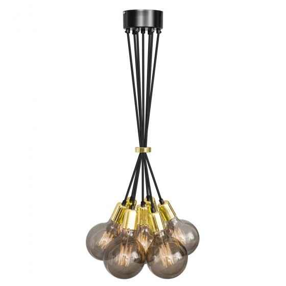 No.3 Hanglamp bundel 7 lichts goud