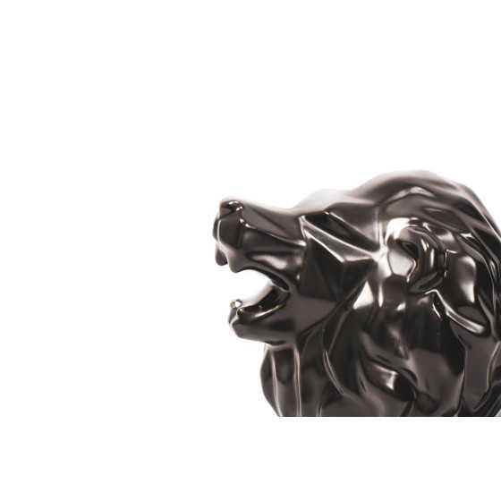 Leeuw Geometrisch zwart