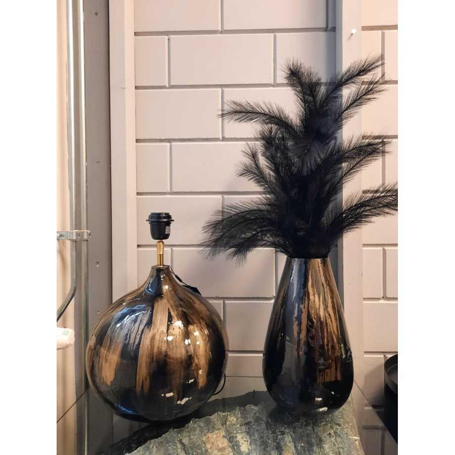 Lamp base zwart sea enamel