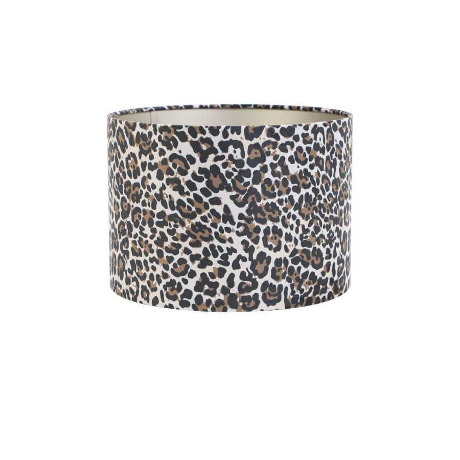 Lampenkap Cilinder Ø30 cm Leopard