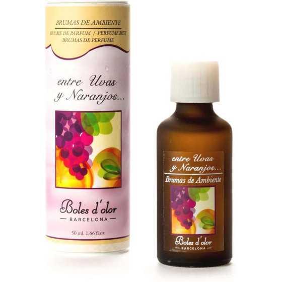 entre Uvas y Naranjos (tussen Druiven en Sinaasappel) - Boles d'olor geurolie 50 ml