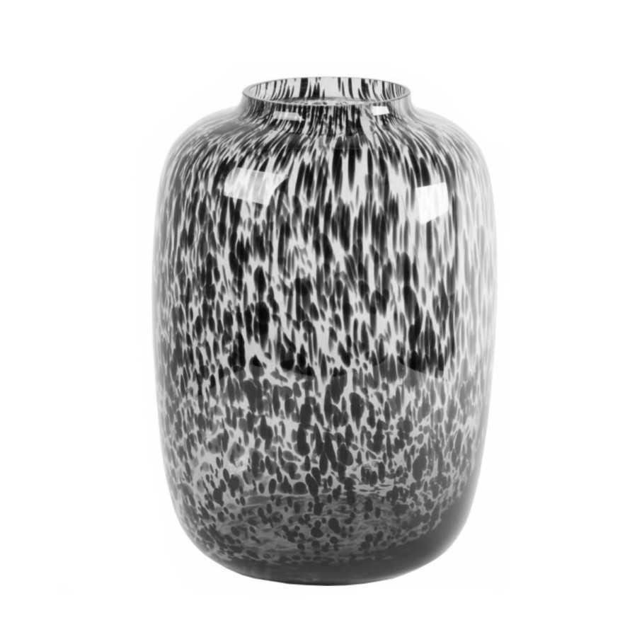 Kara Grey cheetah Ø25 X H35 cm