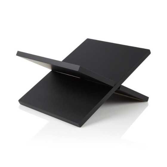 Boekenstandaard zwart