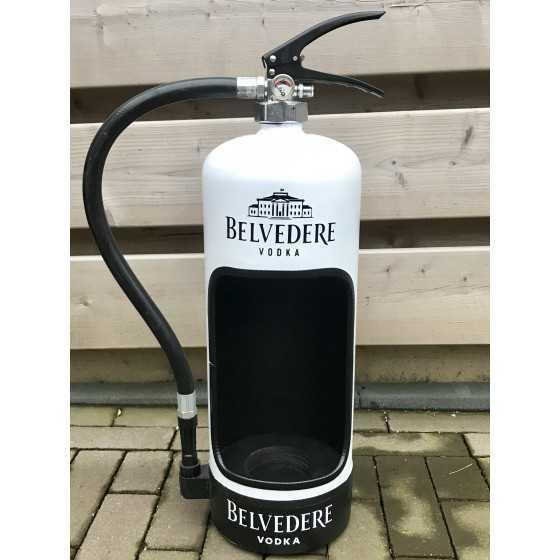Brandblusser Belvedere vodka