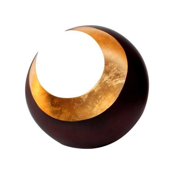 Waxinelichthouder Luna brons / goud